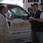 meeting with local business-Hodgdon's Lawn Services