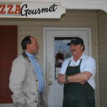 visiting with businesses-Pizza Gourmet
