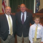 Pastor Chuck Langbein & son Gresley