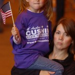 Heidi & Lainey at Gov. Palin rally