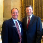 A pleasant surprise meeting Gov. Jock McKernan in Washington DC