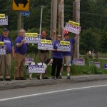 The purple team on election day 2008
